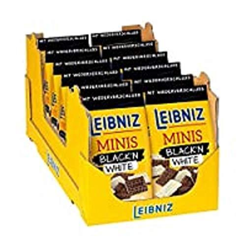 Leibniz Minis Black'n White, 12er Pack (12 x 125 g)