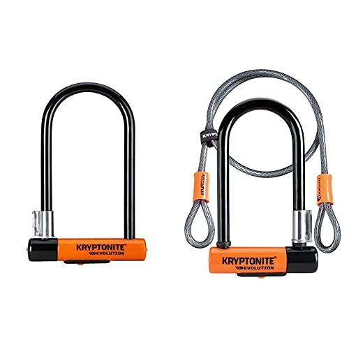 Kryptonite New-U - Evolution Standard Flexframe-U Orange, 10 x 22.9