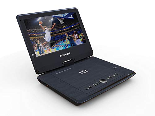 "Buy Sylvania 10"" Portable Blu-ray Player with Swivel Screen - Black- SDVD1079"