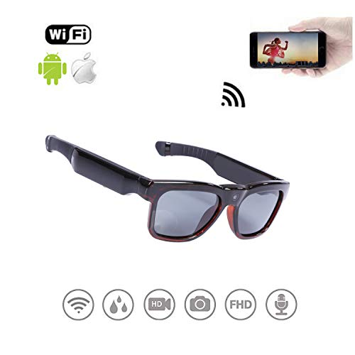 WiFi Live Streaming Video Sunglasses, Streaming Videos & Photos from Glasses to...