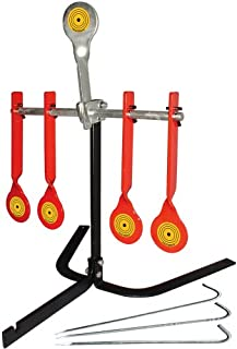 Do-All Outdoors - Auto Reset Steel Target, Rated for .22 Caliber