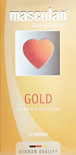 masculan goud, per stuk verpakt (1 x 10 stuks)