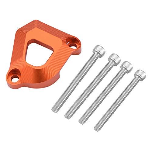 Duokon Clutch Slave Schutz, Motorrad CNC Aluminium Kupplung Slave Zylinder Schutzabdeckung Schutzfolie für 1090 1290 Super Adventure R S(Orange)