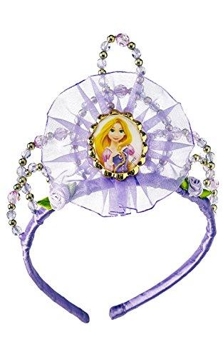 Princesas Disney - Tiara de Rapunzel, diadema para niña, accesorio disfraz (Rubie's 30077)