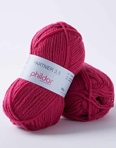 Phildar Partner 3,5 Wolle (0067 Noir)