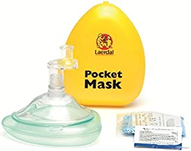 Laerdal Pocket Mask with Glove and Wipe in Hard Case