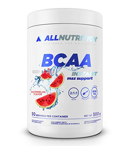 Allnutrition BCAA Max Support Instant, Watermelon, 500g