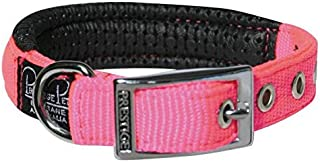 """Prestige Pet Products Soft Padded Collar, 3/4"""" X 14"""" (36Cm), Hot Pink"""