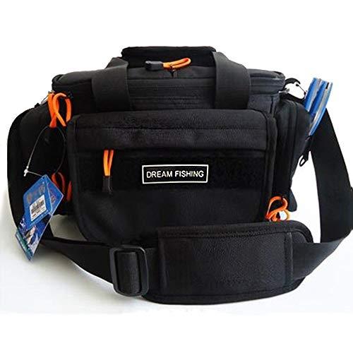 NgMik Affrontare Lo stoccaggio Durable Pesca Bag Borsone Grande Spalla Singolo Tackle Borse Contenitore Multifunzionale Outdoor Sports Bag Organizzatore di Pesca Portatile