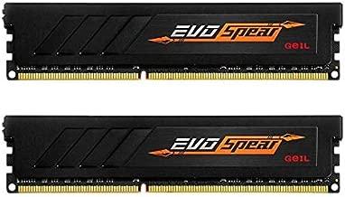GeIL EVO Spear AMD Edition 16GB (2 x 8GB) 288-Pin DDR4 SDRAM DDR4 2666 (PC4 21330) Desktop Memory Model GASB416GB2666C19DC