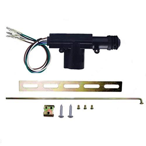 Schwarz Schloss 12 V Zentralverriegelung Car Central Control Türschloss Master Lock Mit Hardware 5-Wire-Auto-Zubehör