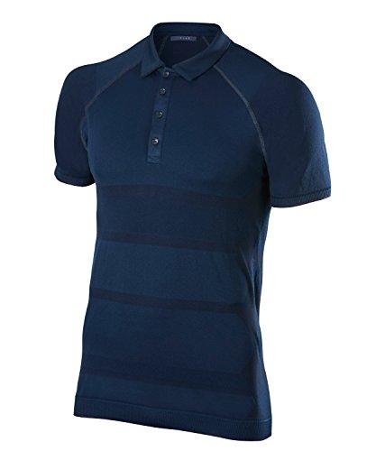 FALKE Herren Basic Golf Polo Poloshirt, White, L