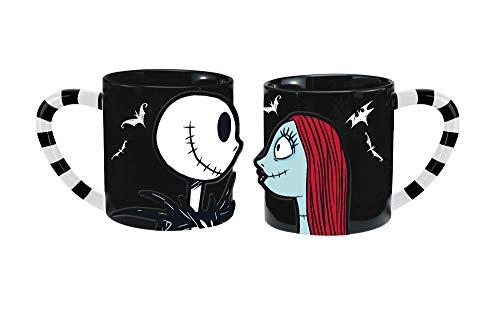 Jack Skellington & Sally Disney 2-Piece Ceramic Mug Set