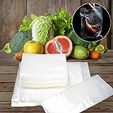100 x Food Saver Bags Rolls Vacuum Sealer Bags BPA Free Freezer Vacuum