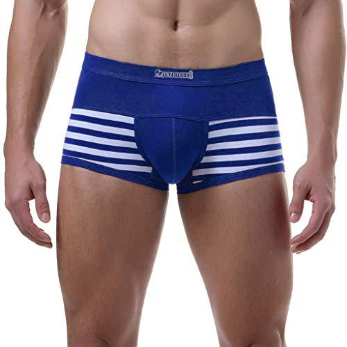 Preisvergleich Produktbild Julywe Herrenmode Herren Sexy Low Rise Unterwäsche Farbige Baumwolle Shorts Men Boxer Unterhose Soft Slips 4er Pack