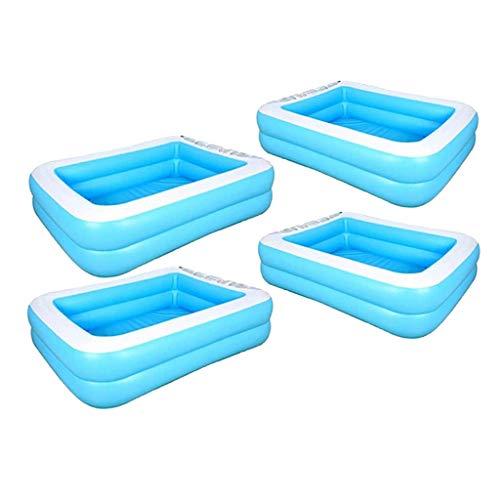 Colcolo 2 Tamaños Piscina Inflable Hogar Niños Adultos Bañera Agua Salón de Juegos