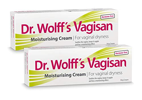 Dr. Wolff´s Vagisan Moisturising Cream, 2x50g- for Vaginal Dryness