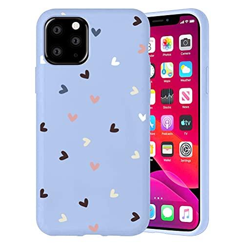 Pnakqil Funda para Apple iPhone 6 Plus / 6s Plus Patrón Silicona Cárcasa, Suave TPU Gel Antigolpes de Protector Piel Case Cover Bumper Case con Dibujos Diseño, Carcasa para iPhone 6s Plus, Amor 2