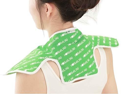 富士商『ホット&クールパッド首肩用グリーン』