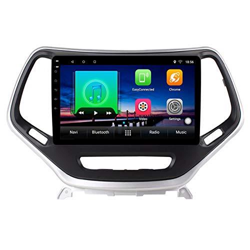 2G + 32G Android 10 estéreo de Coche para Jeep Cherokee 5 KL 2014-2018 Radio de Coche Reproductor de vídeo Multimedia...