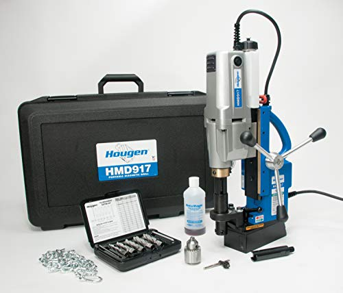 Hougen HMD917 115-Volt Swivel Base Magnetic Drill 2 Speed/Coolant Bottle Plus 1/2