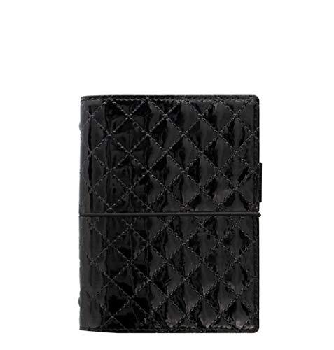 Filofax Pocket Domino Luxe Organiseur Noir