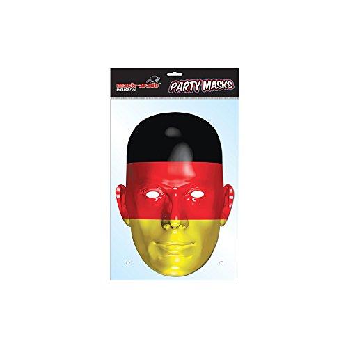 Rubie's 6240421-STD Maske Deutsche Flagge, Beige