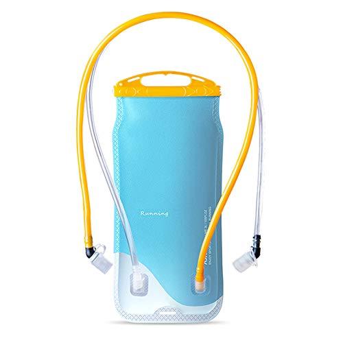 Vejiga de hidratación de doble papelera 2l, depósito de agua con doble...