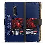 DeinDesign Étui Compatible avec Huawei Nova Plus Étui Folio Étui magnétique Produit sous Licence...