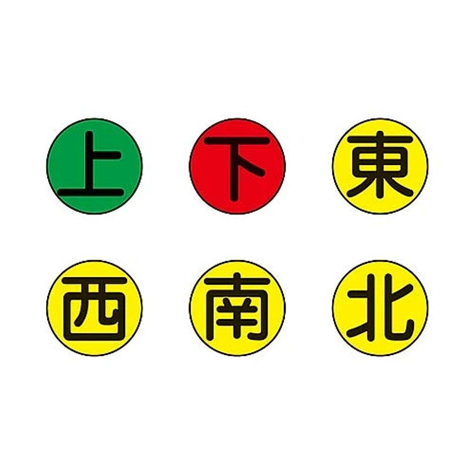 に変わるに賛成気分が悪い日本緑十字社 クレーン用ステッカー 「上 下 東 西 南 北 」 クレーンC-S/61-3386-87