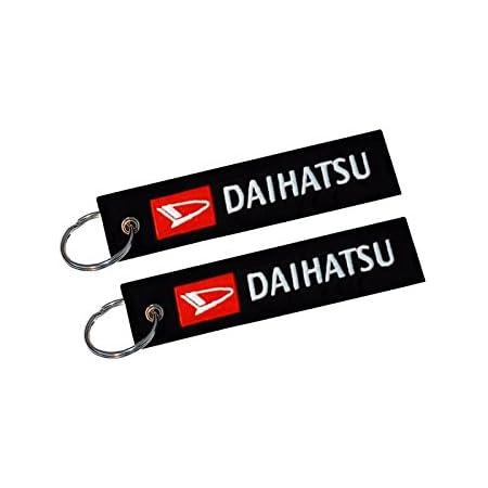 Daihatsu Doppelseitiger Schlüsselanhänger 1 Stück Auto