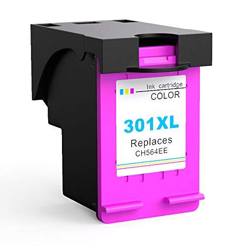 Ksera Rigenerata HP 301 301XL Cartuccia d'inchiostro, Alta resa a 1 colore (CH564EE) Compatibile con HP Deskjet 1000/1010/ 1050/2000/ 2050/2540 HP Envy 4500/4502/ 4504