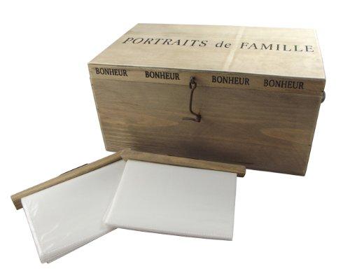 Heaven Sends Portrait de Famille Photo Storage Box Unique Photo Album by Heaven Sends