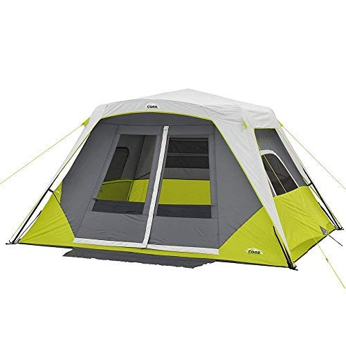 CORE 6 Person Instant Cabin Tent with Awning.
