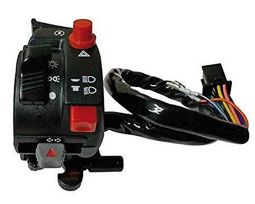 Lenkerschalter 2 universal mit Chokehebel, für ATV + MRD, links