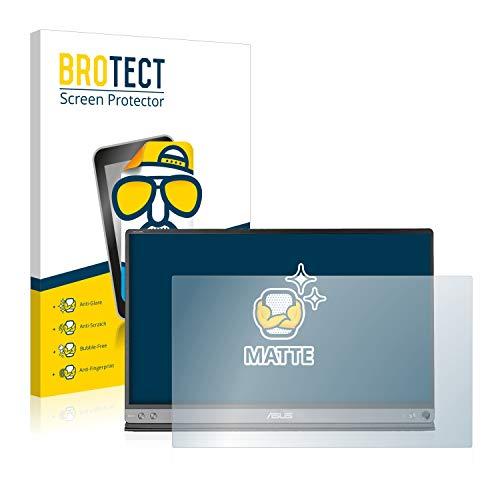 BROTECT Entspiegelungs-Schutzfolie kompatibel mit Asus ZenScreen MB16AC Displayschutz-Folie Matt, Anti-Reflex, Anti-Fingerprint