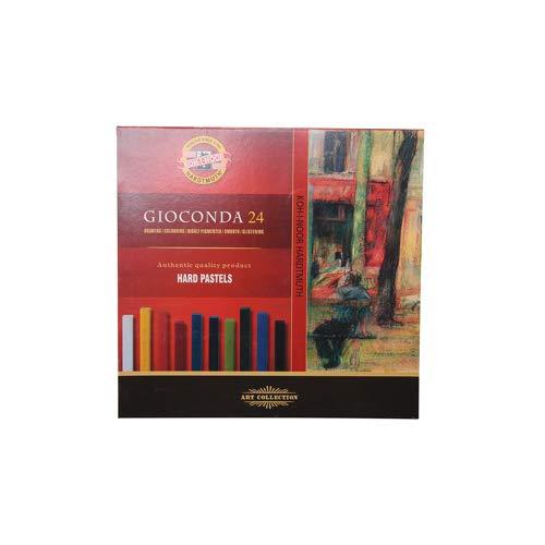 KOH-I-NOOR GIOCONDA 8114 Harte Künstler-Pastellkreiden (24 Stück)
