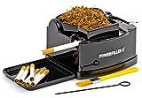 Powerfiller 3 - entubadora eléctrica | máquina de entubado de tabaco sin embudo | entubadora automática de cigarrillos (Negro)
