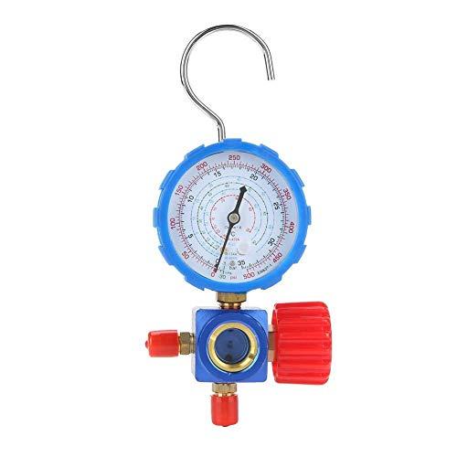 Medidor de aire del colector Condición colector de manómetro de la válvula 500 psi 35kgf / cm² Con Espejo Visual