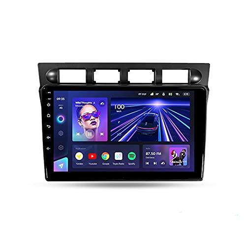 Radio Con 9'' Screen Android 10 Carplay Para Kia Picanto SA Morning 2004 - 2007, Soporte BT 4G Wifi Mandos De Volante Cámara Trasera 3D Dinámica De Conducción En Tiempo Real Enlace Espejo,Cc3 3+32g