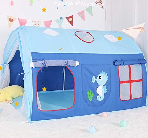 CCDYLQ Grand Portable Jouer Tente pour garçons ou Filles pour intérieur et extérieur, Tente Tunnel Enfants, Pliable Pop Up, est livré avec Un Sac de Transport, pour Les Tout-Petits garçons et Filles