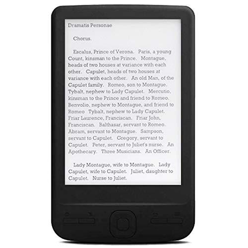 Moligh doll 4,3 Pouces E-Ink Ebook Reader 800X600 Ereader Electronic Paper Book avec Front Light PU Cover (4G)