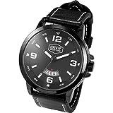 Spirit Motors Armbanduhr Armbanduhr schwarz, Herren, Multipurpose, Ganzjährig, Metall