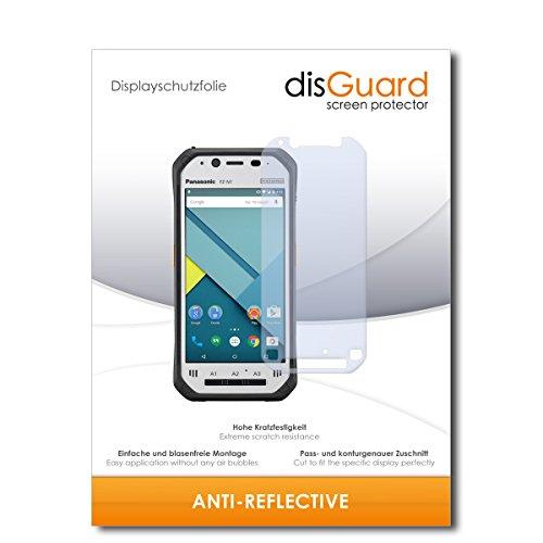 disGuard® Bildschirmschutzfolie [Anti-Reflex] kompatibel mit Panasonic Toughpad FZ-N1 [2 Stück] Entspiegelnd, Matt, Antireflektierend, Extrem Kratzfest, Anti-Fingerabdruck - Panzerglas Folie, Schutzfolie