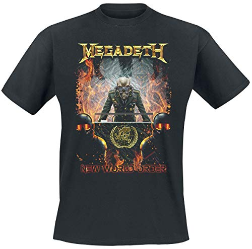 Megadeth New World Order T-Shirt schwarz S