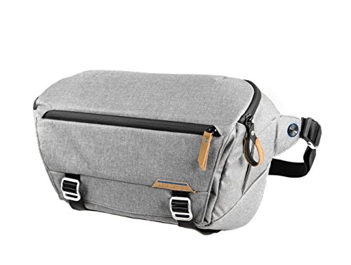"Peak Design Everyday Sling Honda Gris - Funda (Camera Sling, Universal, Gris, Lienzo, Sintético, 33 cm (13""), 400 mm)"