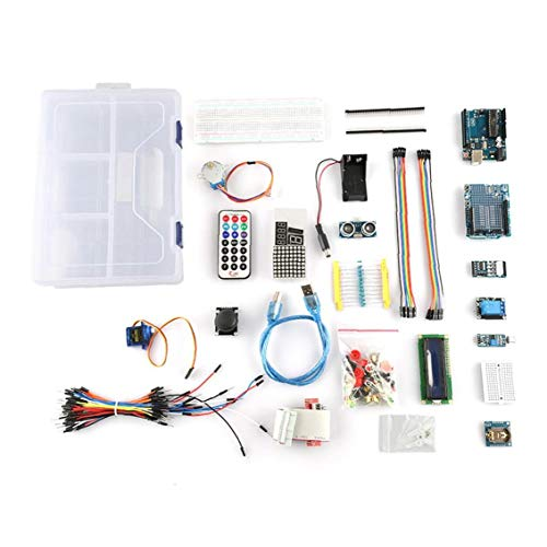 OMMO LEBEINDR UNO-Projekt Starter Kit Tutorial Controller Board mit Lernanleitung Kompatibel mit 1602 LCD UNO R3 für die Industrie