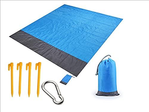 Tapis de Camping, imperméable Plage Couverture extérieur Portable Pique-Nique Mat de Camping Matelas Matelas Camping Pique-Nique Plage lit de Couchage (Size : 210 * 200CM)
