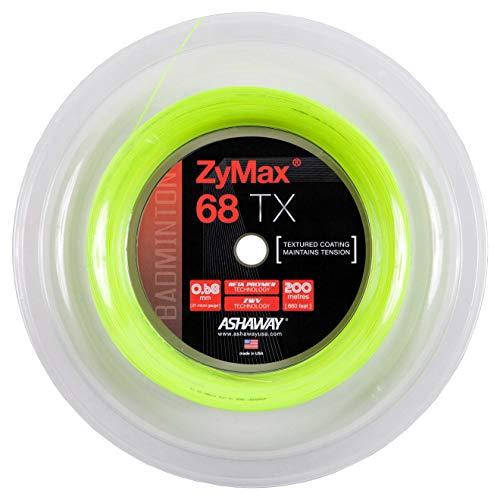 ASHAWAY Badminton ZyMax 68 TX 200 m Rolle, gelb