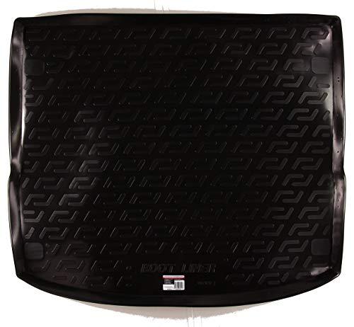 SIXTOL Auto Kofferraumschutz für die Ford Focus III Turnier/Combi Maßgeschneiderte antirutsch Kofferraumwanne für den sicheren Transport von Einkauf, Gepäck und Haustier